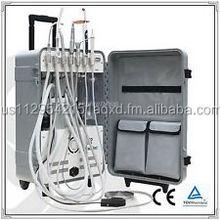 GOOD QUALITY - Dynamic Portable Dental Unit Air Compressor With Ultrasonic Scaler LED DL001