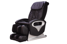 Massage chair with vibration body massager