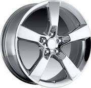 For sale Set of 4, ALY5444/5446U95 Chevy Camaro Chrome Alloy Wheels #92230895