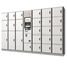 High-performance keyless intelligent 2 door locker with universal power supply