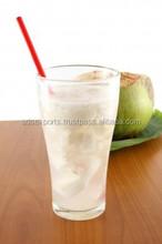 Fresh energetic coconut water
