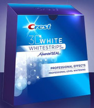 Crest 3D White - Whitestrips Intensive Professional Effects - 7 treatments