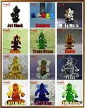 Crystal Glass Ganesha in Various Colors - Hot Wedding Favor Gift, Souvenir Wedding, Custom Design Lampworking