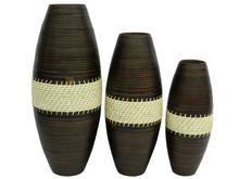 Special round spun bamboo with rope from Viet Nam