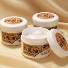 Japonés y la hidratación natural de aceite de almizcle aceite caballo con excelentes efectos hidratantes made in japón