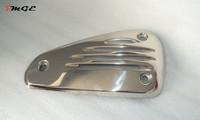 Vespa Piaggio Genuine LX VX S ET4 Exhaust Muffler Heat Shield Plate Chrome @MGE