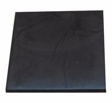 Natural black stone shungite Tile