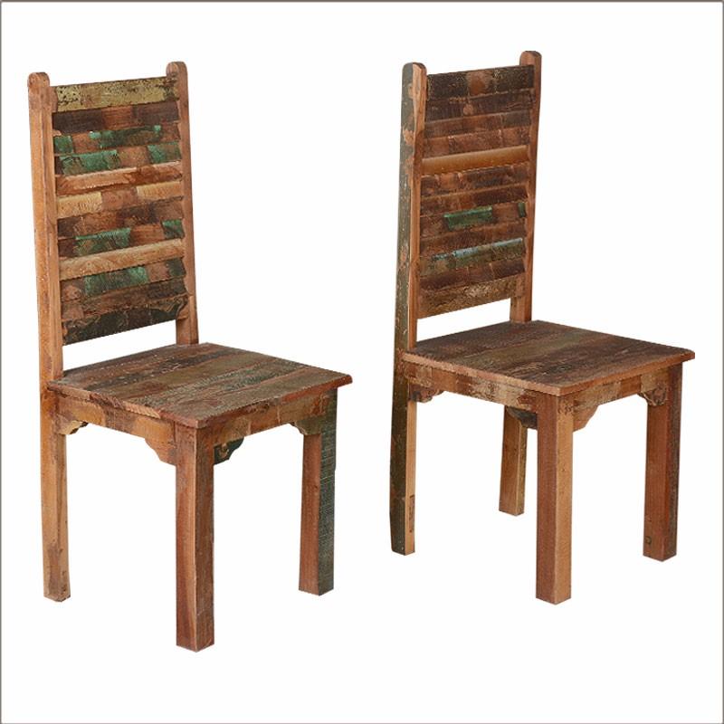 매립지 나무 식당 의자, 소박한 고민 매립지 나무 멀티 컬러 식당 ...