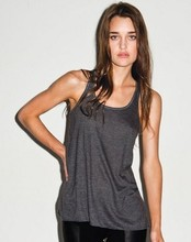 Ladies Fringe Tank Top with 100% Polyester Crepe/vietnam tank top supplier/ made in bangladesh tank top factory at low price