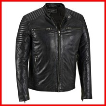 boys genuine punk studded leather jacket fashion boys leather jackets women sexy leather jacket black l
