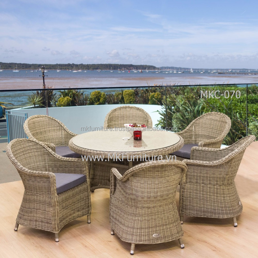 30 beautiful wicker patio dining sets