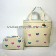High quality pouches and bags make up pouch cosmetics japan for oem