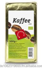 Organic roasted coffee, 500g
