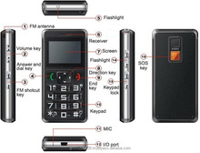 Personal Mobile phone - gps tracker Leo 788 logate a mobile phone