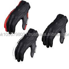 promotion Xinxiang fingerless Fiber Fabric motorbike glove