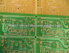 PCB Single side, FR1, RR4, CEM-1, CEM-3, Aluminium PCB