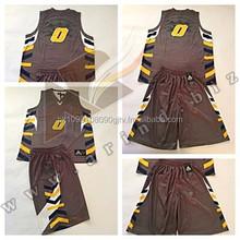 sublimated camo broun reversible basketball jerseys/custom digital camo basketball uniforms/basketball jersey