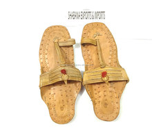 Kolhapuri Chappal Pure Leather Multicoloured kolhapuri leather Sandals