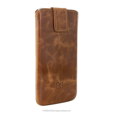 Genuine Leather Lift Style Phone Case for iP6 from Turkey