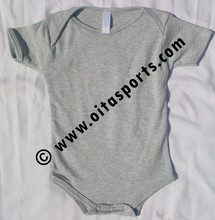 Unisex Baby 100% Cotton One Piece Lap Shoulder Bodysuit