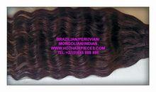 Brazilian/indian/peruvian hair 100%