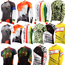 ZIOCO long & short sleeves cycling jersey spring summer season bicycle wear