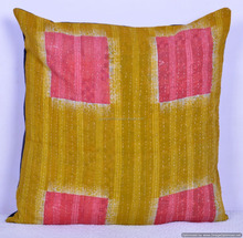 INDIAN CUSHION COVER CASE HANDMADE ETHNIC HOME DECOR INDIA 24""
