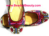 Pakistani / Indian Leather Khussa Shoes Wholesale