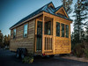 Mobile Wooden House in Wheels - Tiny Home - Tine House