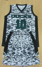 Camo Custom Sublimated Basketball Uniforms