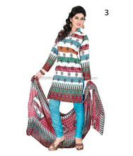 South Cotton Dress Material Neck Designs For Dress Material