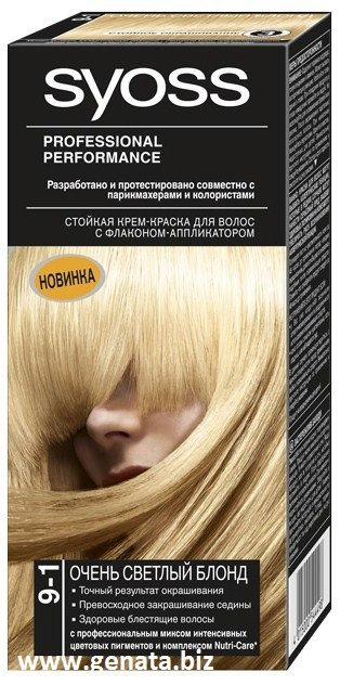 Syoss tinte para el cabello