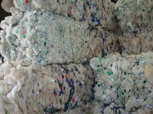 LDPE and HDPE film scrap in Bales