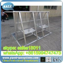foresight 2015 hot sale!! portable concert events metal crowd control barrier(gold supplier/direct factory price)
