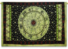 Black & Yellow Astrology Indian Zodiac Wall Decor Hanging Art Tapestries Hippie Hippy Tapestry Manufacturer In India Jaipur