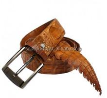 Crocodile leather belt for men SMCRB-006