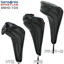 Samsonite head cover set of 3-piece SNHC-104 (driver / fairway wood / utility) head cover
