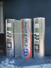 de aluminio con la burbuja de polietileno para el aislamiento del techo