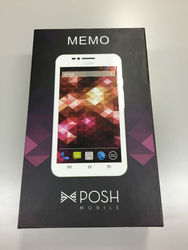New POSH Mobile Memo pad 6 inch big touch screen mobile phone with box and accessory
