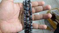Natural AAA wholesale Snowflake obsidian bracelets