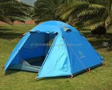 New Waterproof Double layer Outdoor 3-4 Person Instant Camping Tent
