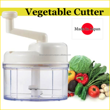 Easy to use and Reliable stainless steel manual food chopper for household