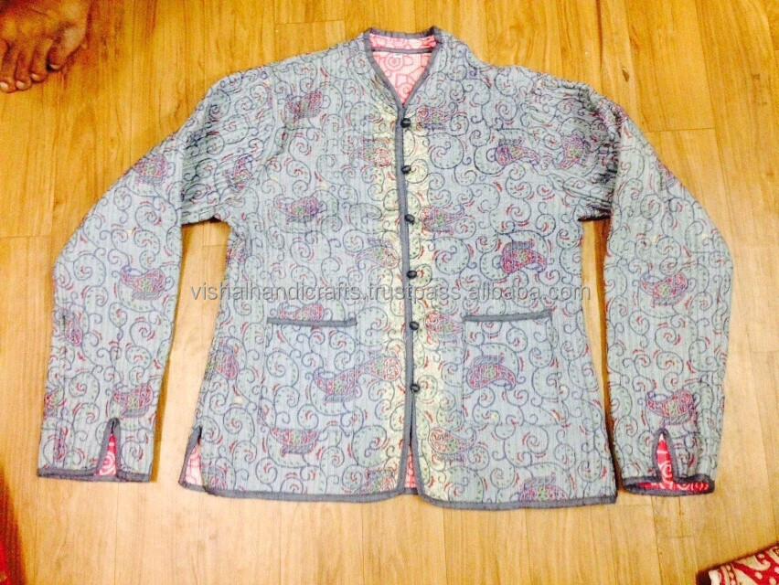 Indian kantha jacket winter jackets