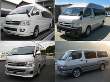 Low cost and High quality japanese used toyota hiace van at reasonable prices long lasting