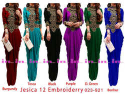 cheap mermaid maxi dress with embroidery