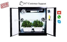 Hydroponic Gardening System Home Growing Cabinet/Locker indoor Solar hydroponics greenhouse