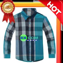 Delivery Men's Plaid Collar Dress Shirt