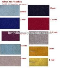 100% de la tela de lana stocklot venta