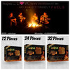 Paraffin wax fire starter Cubes --necessary accessory of grill stoves,camping