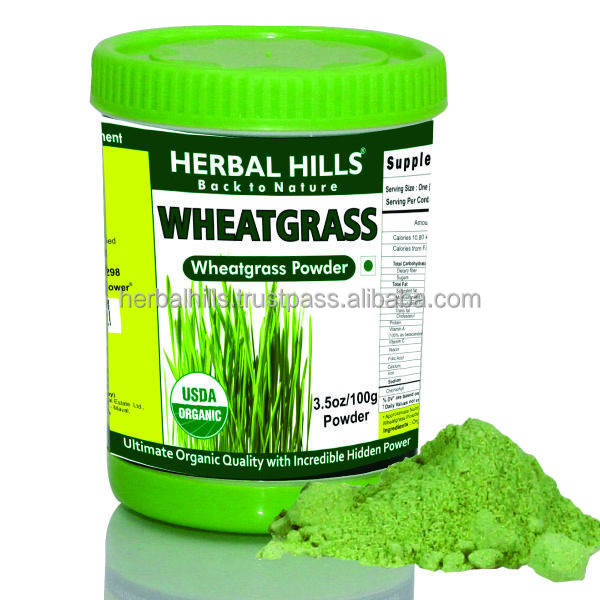 Wheatgrass diet for weight loss